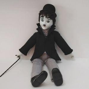 COPY - Porcelain Charlie Chaplin Doll